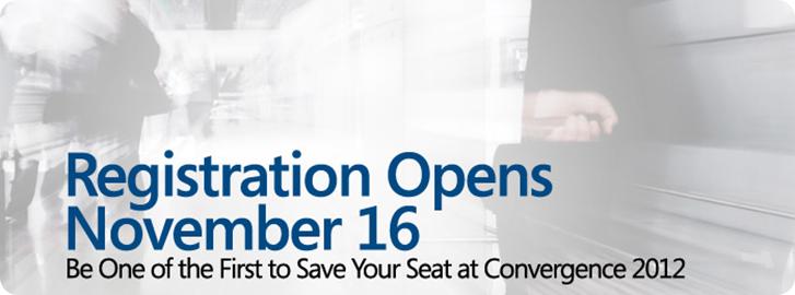 Convergence Registration