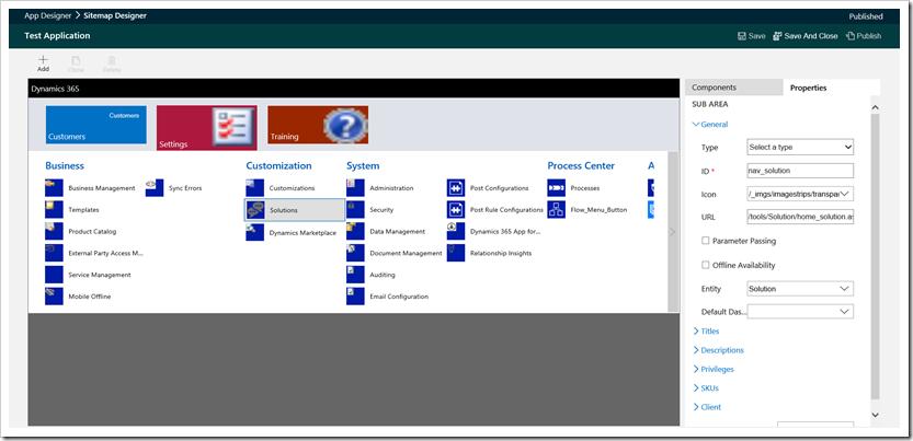 dynamics 365 site map designer microsoft dynamics crm community