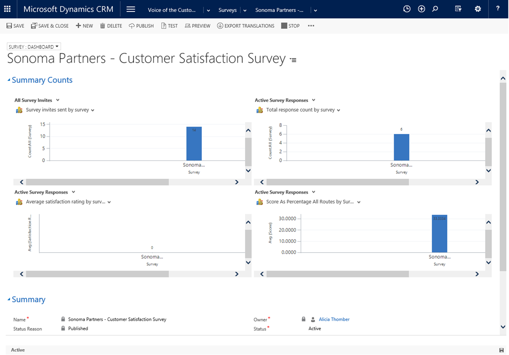 A Step by Step Guide to Create Your First Survey with Dynamics CRM